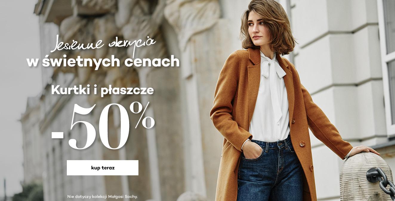 Monnari: 50% rabatu na kurtki i płaszcze damskie