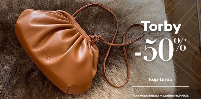 Monnari: 50% zniżki na torby i torebki damskie