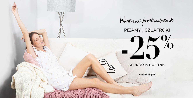 Monnari Monnari: 25% rabatu na piżamy i szlafroki
