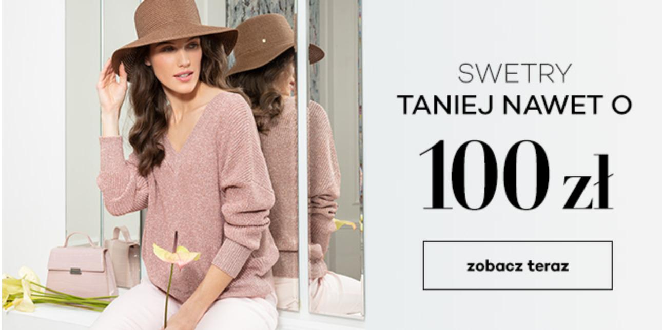 Monnari:  100 zł rabatu na swetry damskie