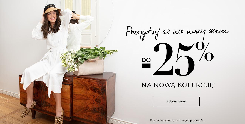 Monnari: do 25% zniżki na nową kolekcję odzieży damskiej