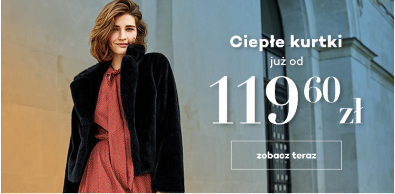 Monnari: ciepłe kurtki już od 119,60 zł