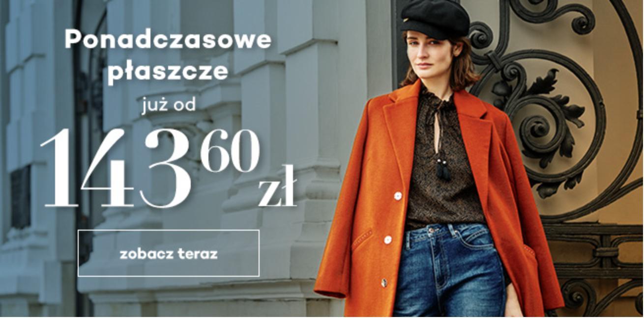 Monnari Monnari: ponadczasowe płaszcze już od 143,60 zł