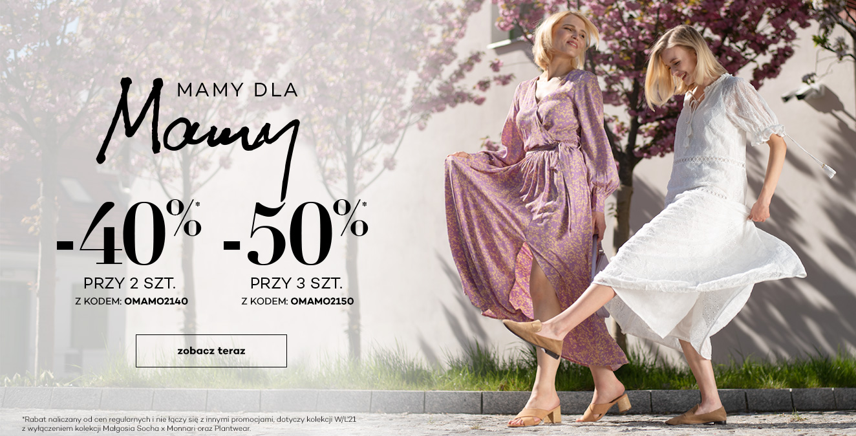 Monnari: 40% zniżki na odzież damską z kolekcji wiosna-lato 2021 przy zakupie 2 szt