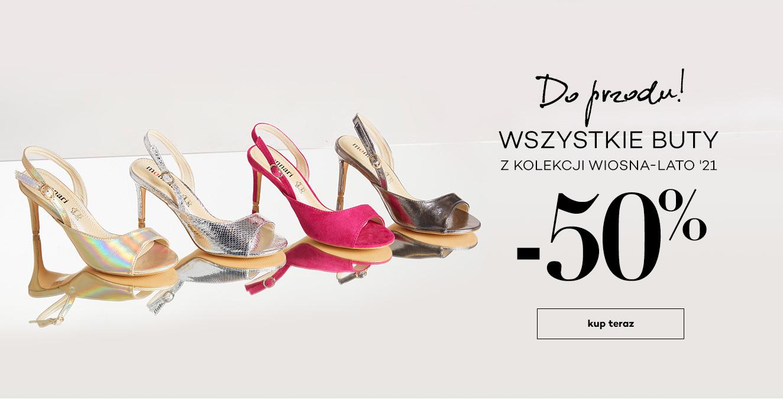 Monnari: 50% rabatu na wszystkie buty z kolekcji wiosna-lato 2021