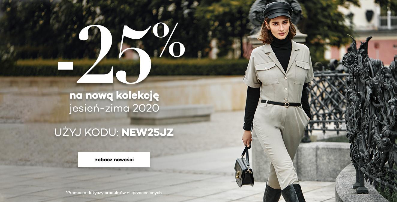 Monnari: 25% rabatu na odzież damską z kolekcji jesień-zima 2020                         title=