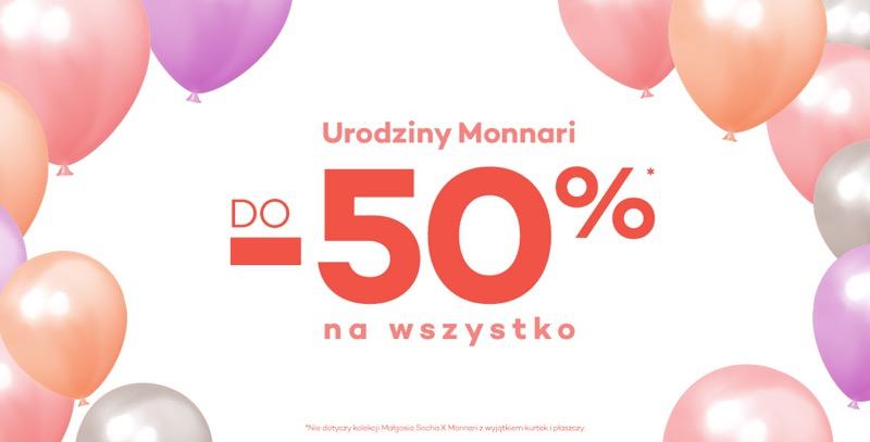 Monnari Monnari: do 50% zniżki na odzież, obuwie, torby i akcesoria damskie