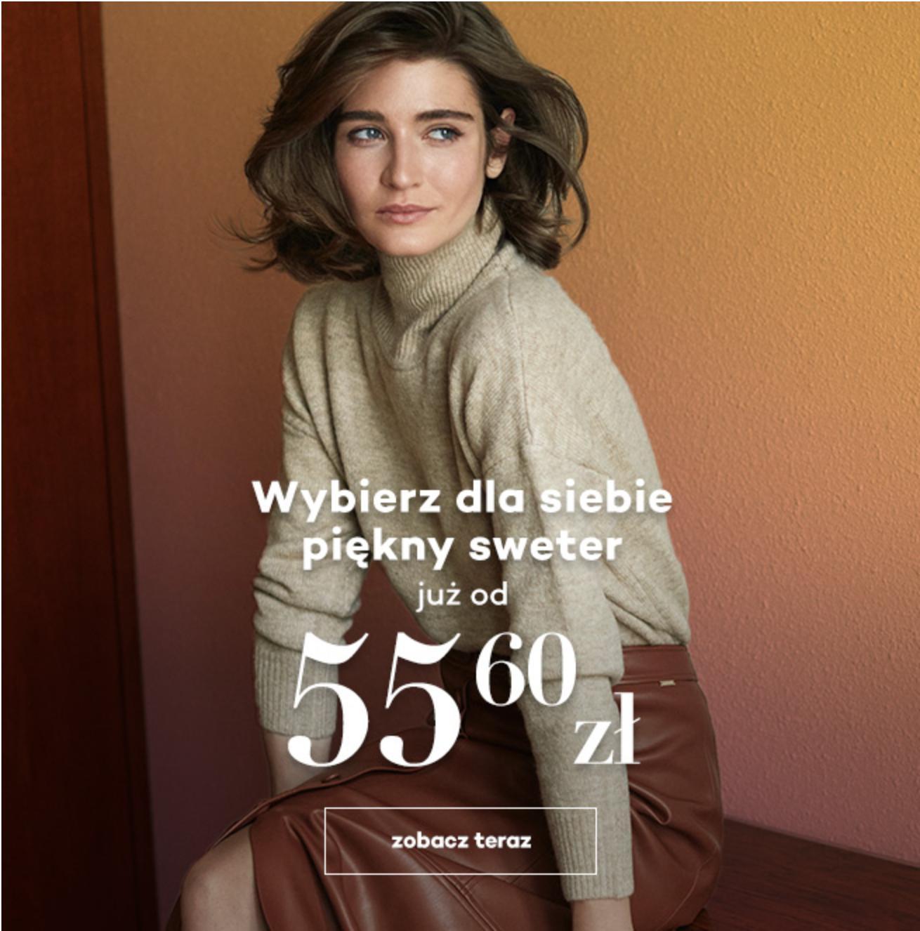 Monnari: piękne swetry damskie już od 55,60 zł
