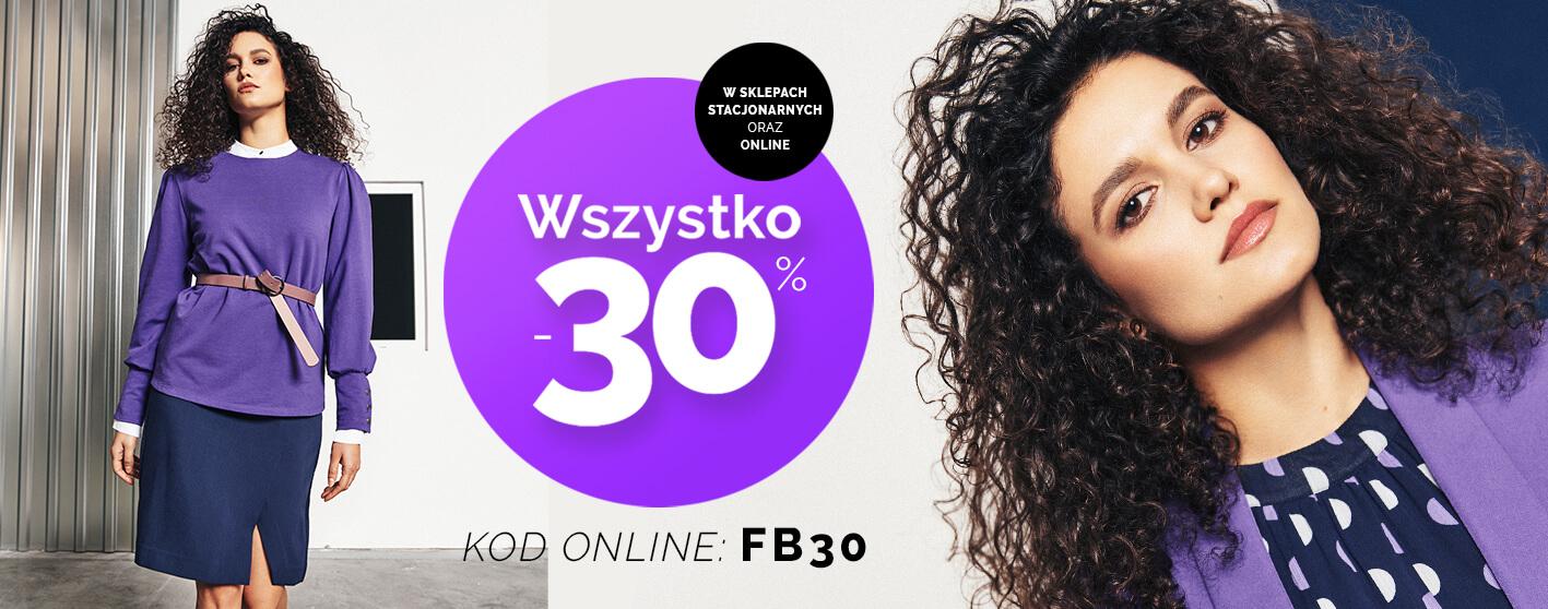 Moodo Moodo: 30% zniżki na cały asortyment odzieży damskiej