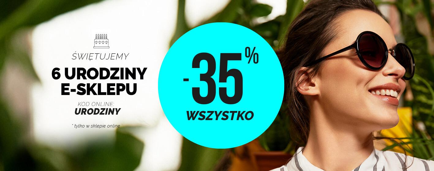 Moodo: 35% zniżki na cały asortyment odzieży damskiej z okazji 6 urodzin sklepu