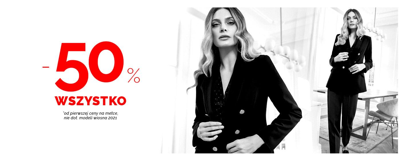Moodo Moodo: wyprzedaż 50% zniżki na modną i nowoczesną odzież damską