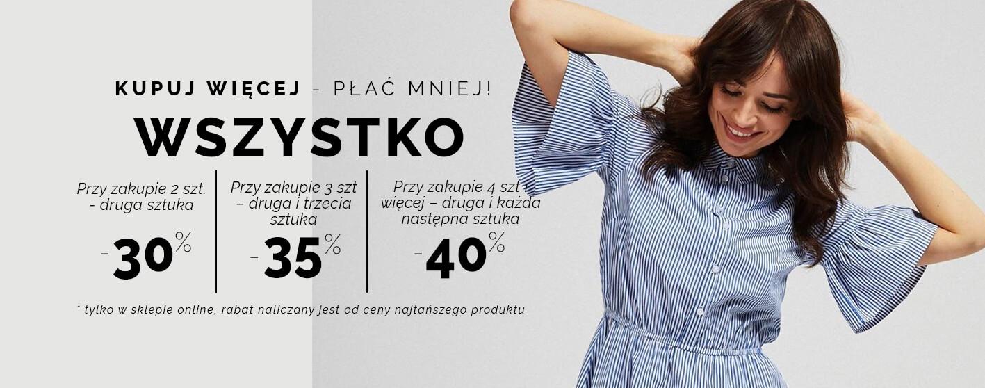 Moodo Moodo: do 40% rabatu na odzież damską