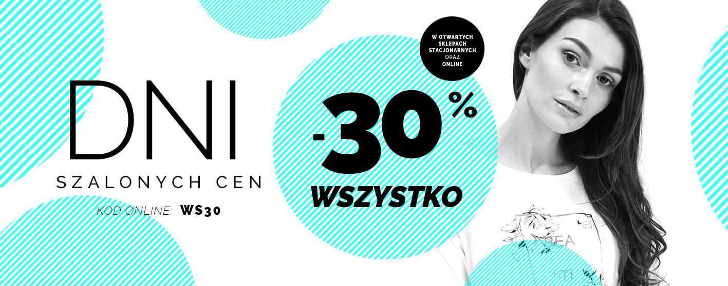 Moodo Moodo: 30% rabatu na cały asortyment odzieży damskiej