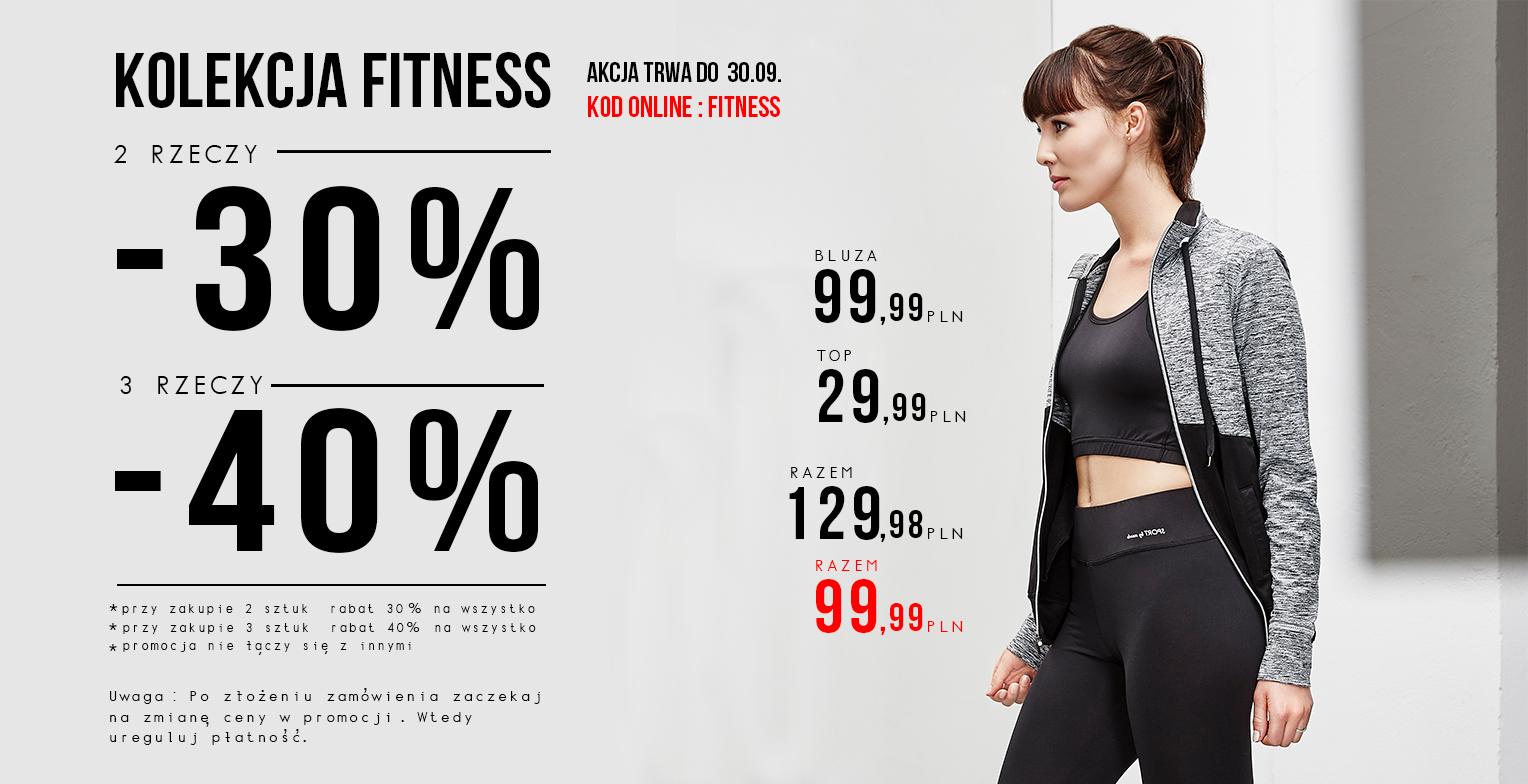 Moodo: promocja do 40% na kolekcję fitness
