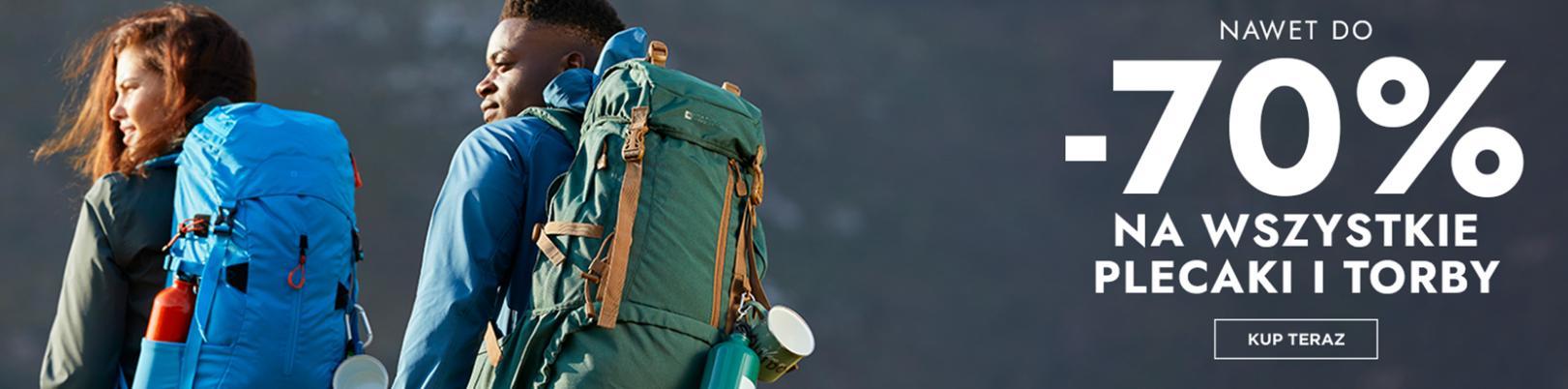 Mountain Warehouse: do 70% rabatu na torby i plecaki