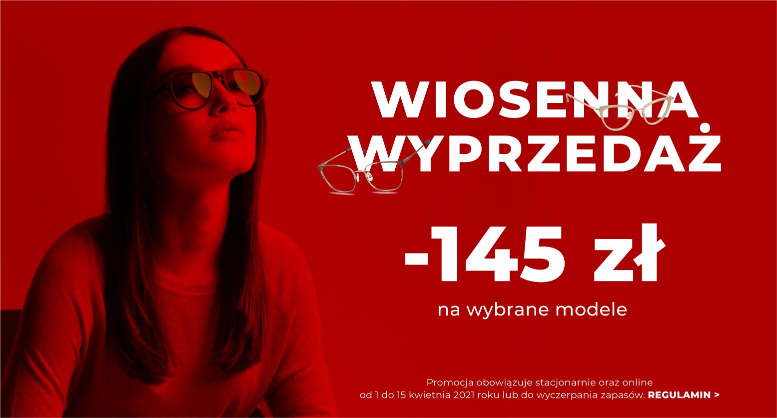 Muscat: 145 zł rabatu na wybrane modele okularów