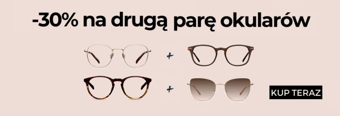 Muscat: 30% zniżki na drugą parę okularów korekcyjnych lub przeciwsłonecznych