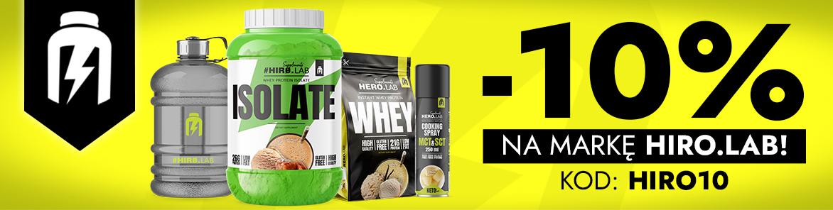 Muscle Power: 10% rabatu na suplementy diety Hiro.Lab
