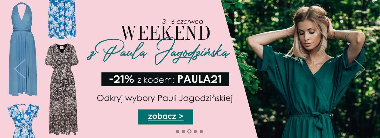 Naoko: 21% rabatu na odzież wybraną przez Paulinę Jagodzińską