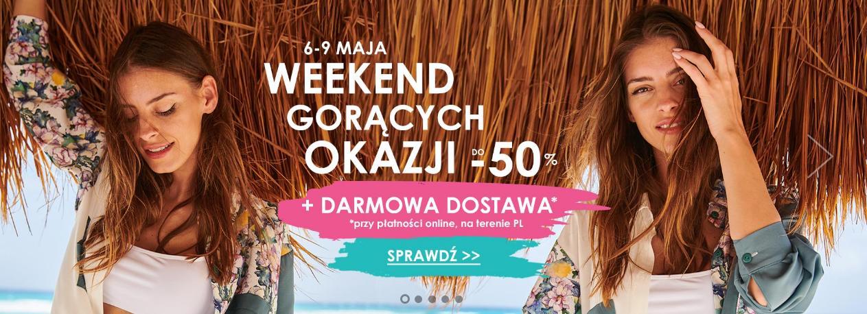 Naoko: do 50% rabatu na odzież damską - weekend gorących promocji