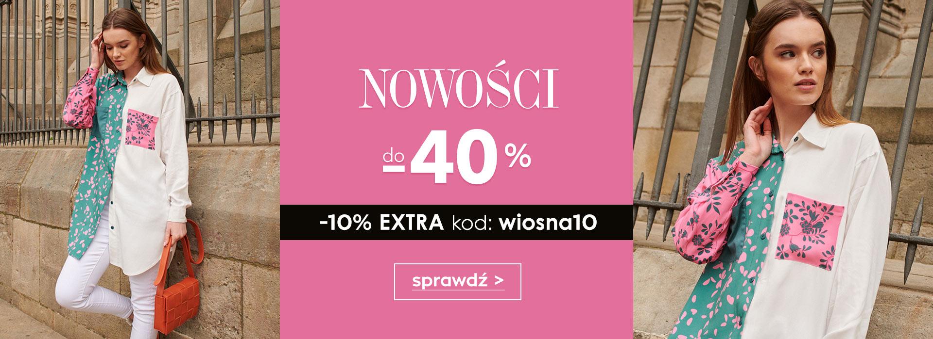 Naoko Naoko: do 40% rabatu na odzież damską z nowej kolekcji
