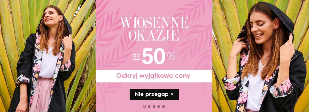 Naoko: do 50% rabatu na odzież damską - wiosenne okazje