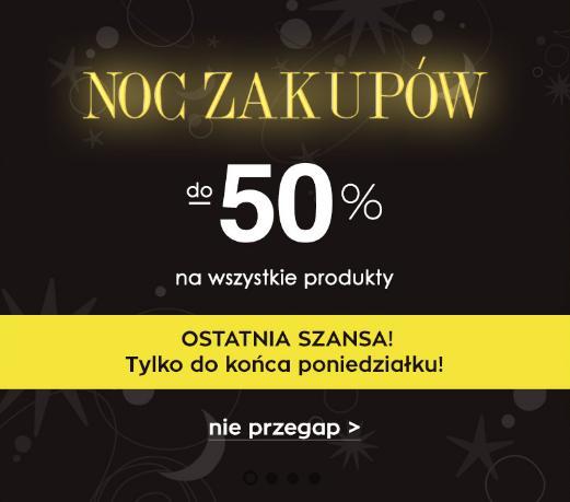 Naoko Naoko: do 50% rabatu na odzież damską- Noc Zakupów