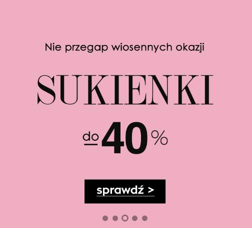 Naoko Naoko: do 40% rabatu na sukienki