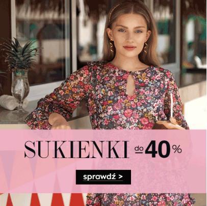 Naoko: do 40% rabatu na sukienki