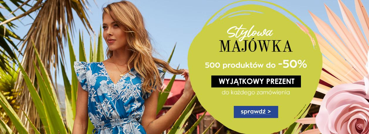 Naoko Naoko: do 50% rabatu na ponad 500 produktów odzieży damskiej oraz prezent do każdego zamówienia
