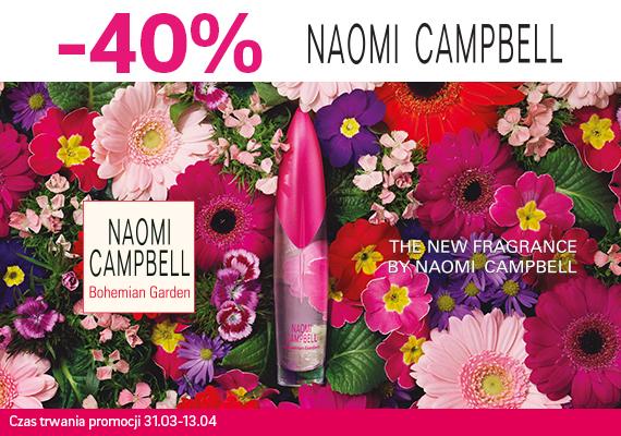 Drogerie Natura: 40% zniżki na kosmetyki marki Naomi Campbell