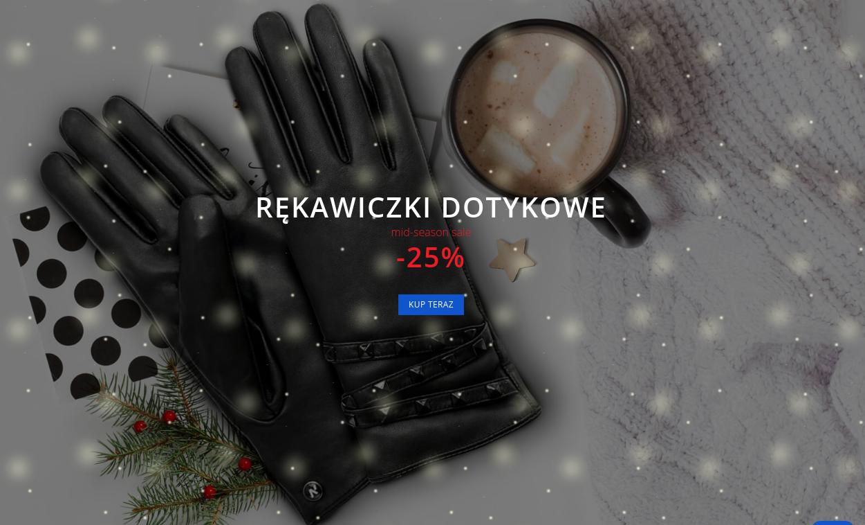 Napo Gloves: wyprzedaż 25% zniżki na rękawiczki