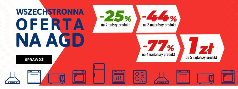 Neo24: 25% rabatu na 2 produkt lub 44% na 3 produkt lub 77% na 4 produkt lub 5 produkt za 1 zł