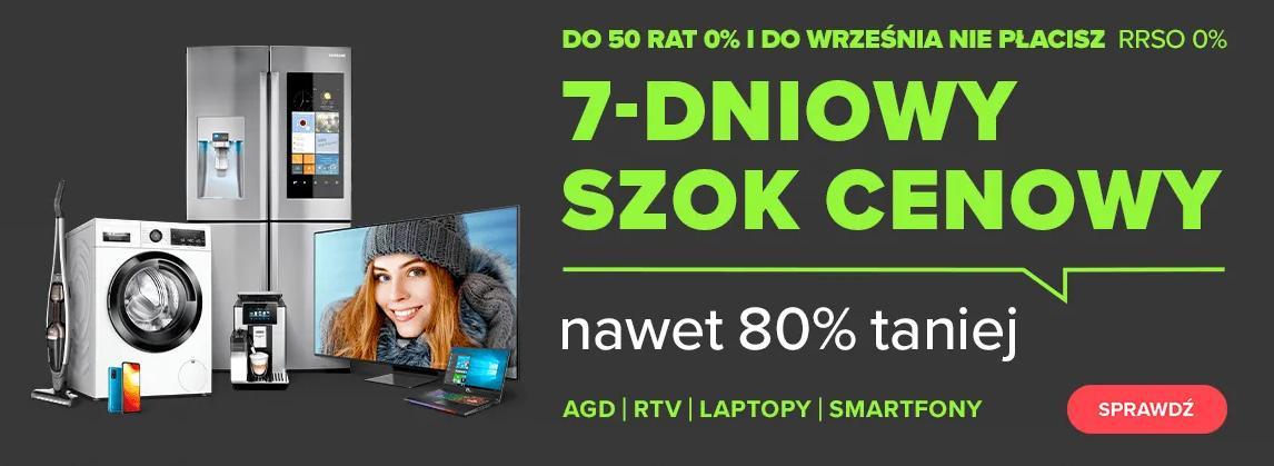 NeoNet: wyprzedaż do 80% zniżki na sprzęt rtv, agd, laptopy, smartfony