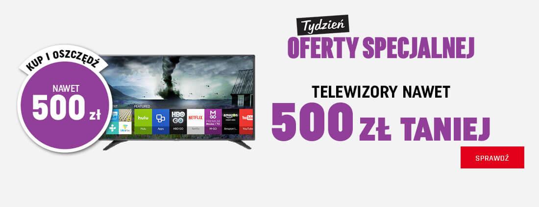 NeoNet: do 500 zł zniżki na telewizory