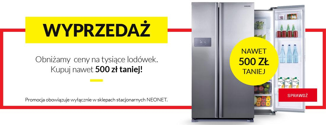 NeoNet: lodówki nawet 500 zł taniej