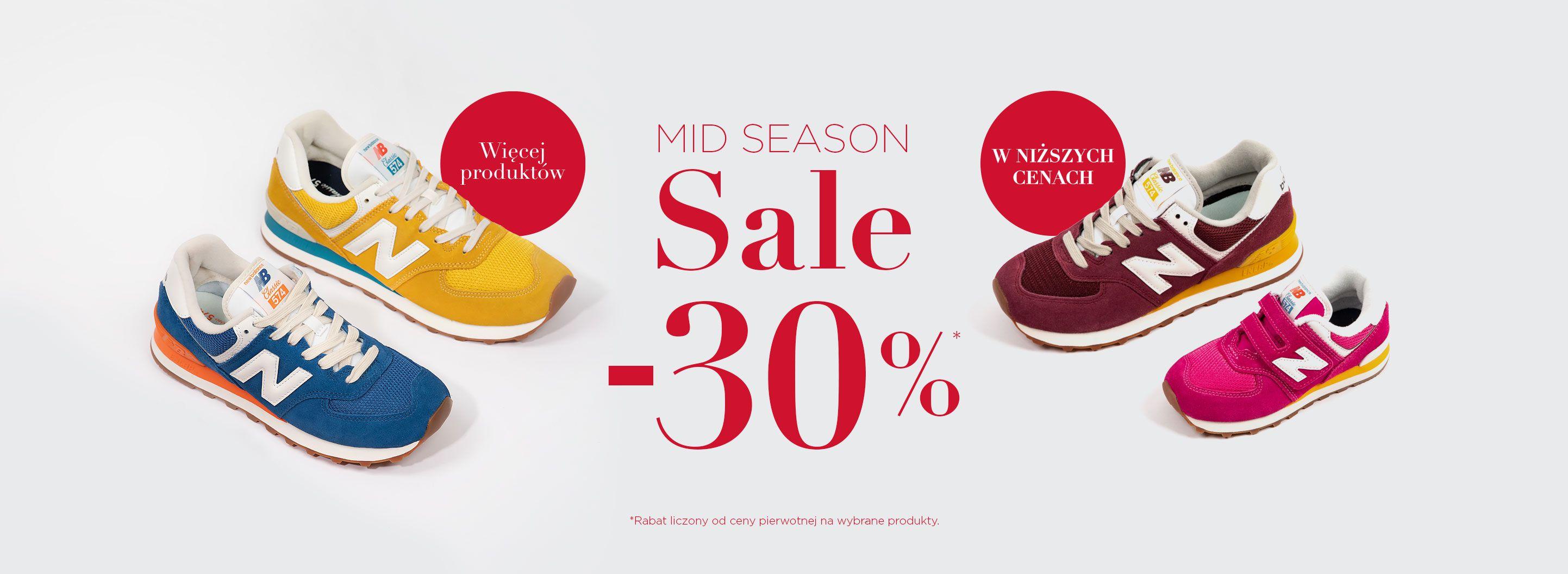 New Balance: wyprzedaż 30% zniżki na buty, odzież oraz akcesoria sportowe