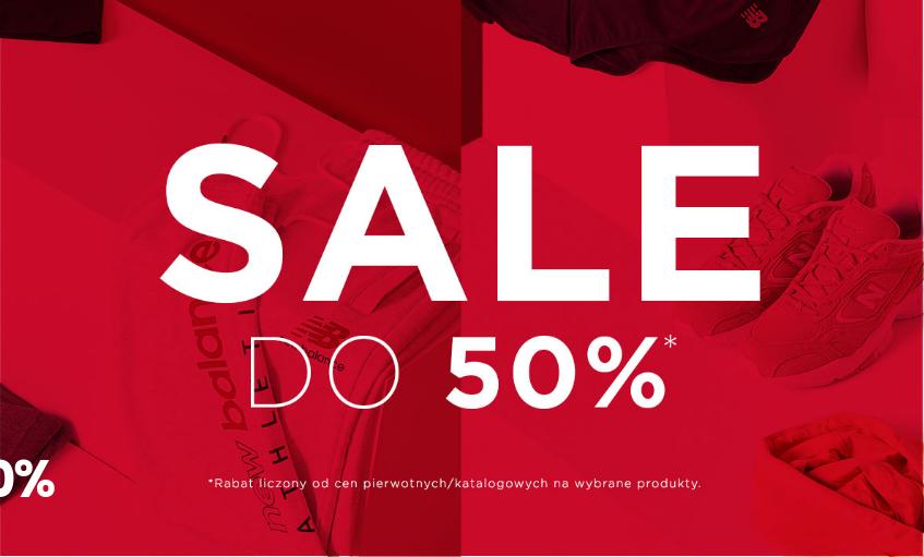 New Balance: wyprzedaż do 50% zniżki na odzież i obuwie damskie, męskie i dziecięce