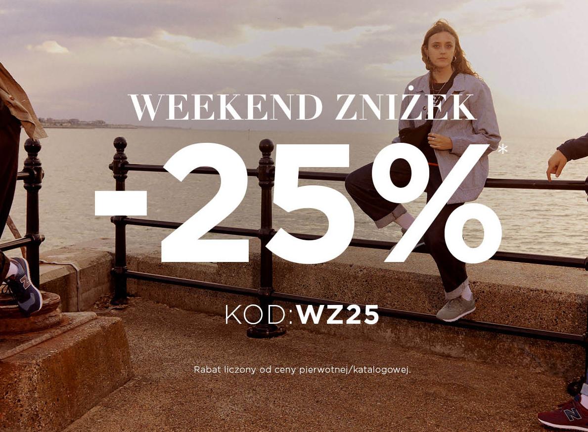 New Balance: 25% zniżki na odzież oraz obuwie sportowe - weekend zniżek                         title=