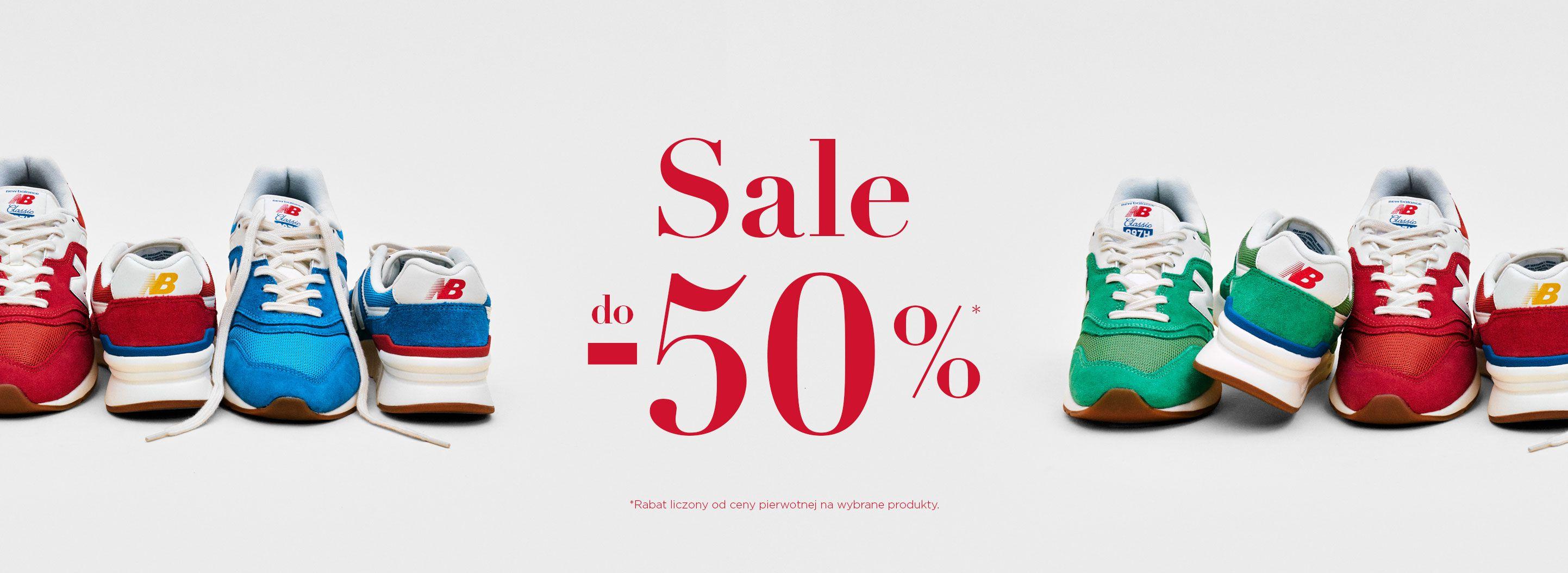 New Balance: wyprzedaż do 50% rabatu na odzież, obuwie oraz akcesoria sportowe