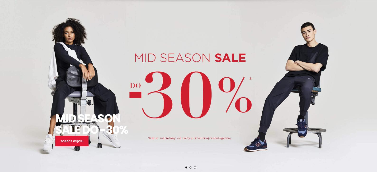 New Balance: wyprzedaż międzysezonowa do 30% zniżki na buty, odzież oraz akcesoria sportowe                         title=