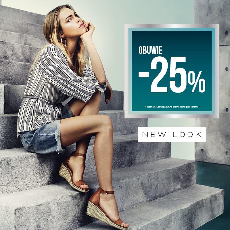New Look: 25% zniżki na obuwie