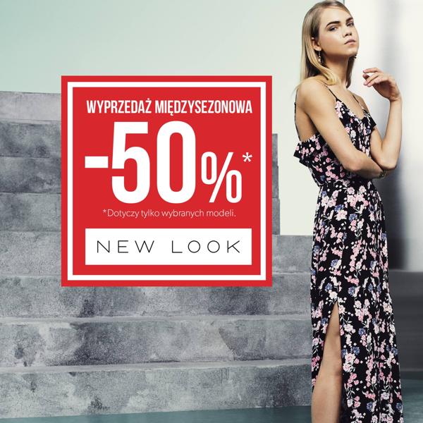 New Look: wyprzedaż do 50% zniżki                         title=