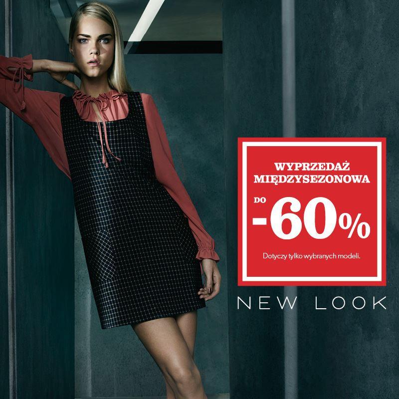 New Look: wyprzedaż do 60% zniżki