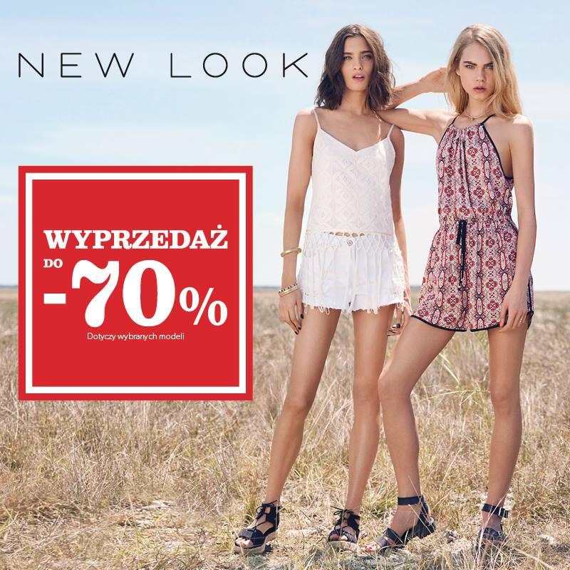 New Look: wyprzedaż do 70%