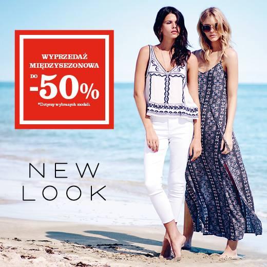New Look: wyprzedaż międzysezonowa do 50%