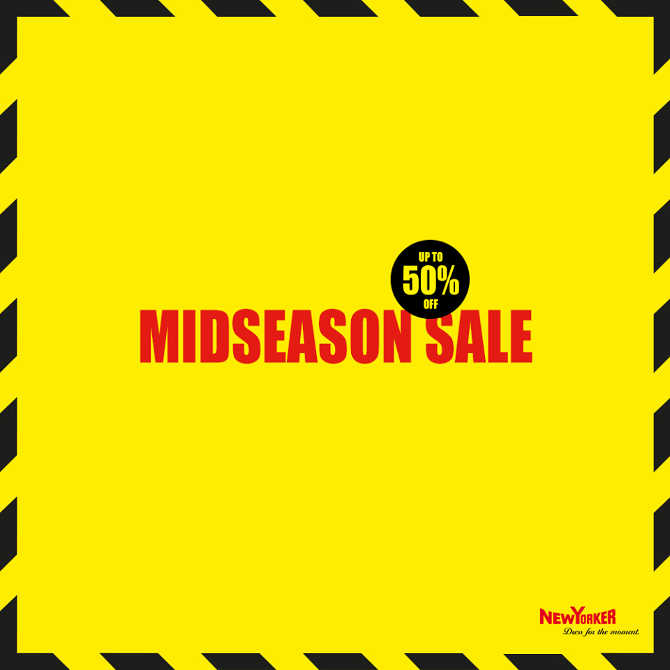 New Yorker: Mid Season Sale do 50% zniżki
