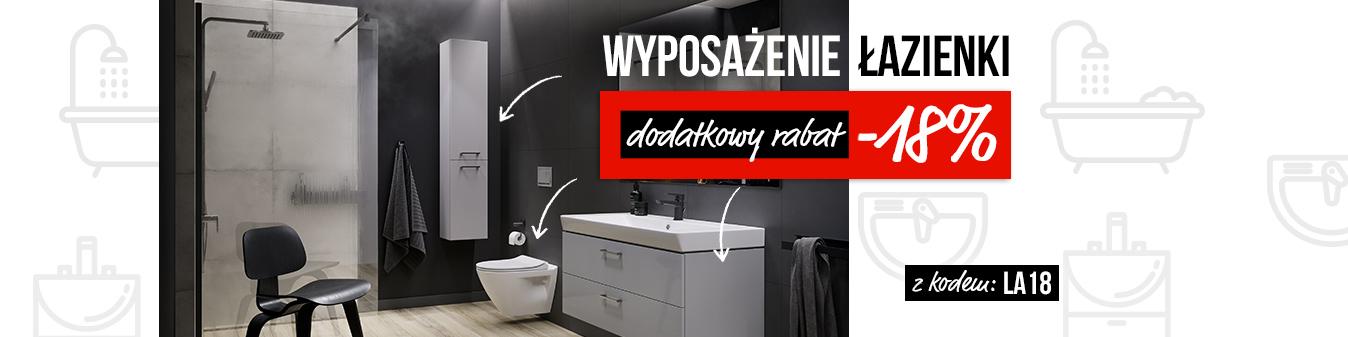 Nexterio Nexterio: dodatkowe 18% zniżki na wyposażenie łazienki