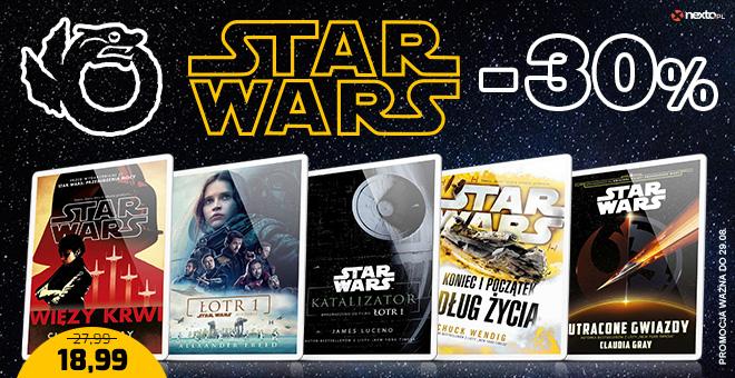 Nexto: 30% rabatu na ebooki z serii Star Wars