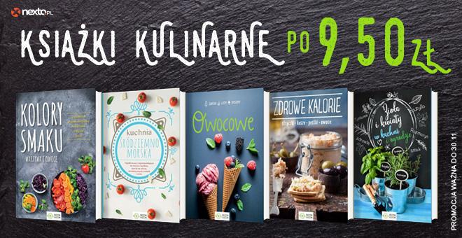 Nexto: książki kulinarne po 9,50zł